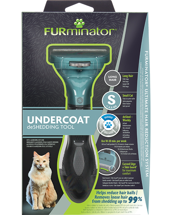DeShedding Tool for Long Haired Small Cats