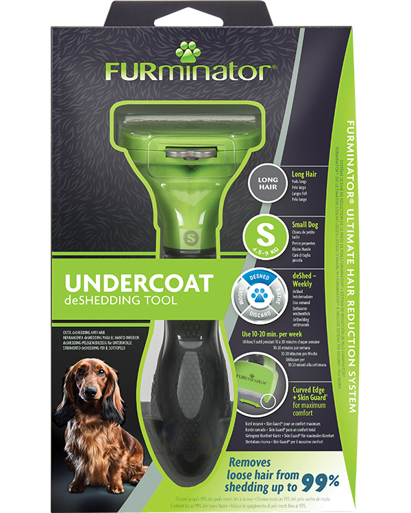 DeShedding Tool for Long Haired Small Dogs