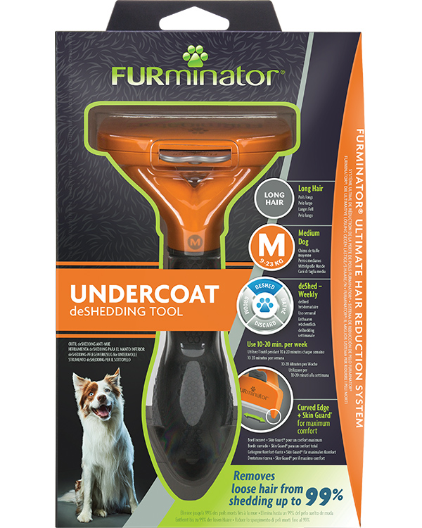 DeShedding Tool for Long Haired Medium Dogs