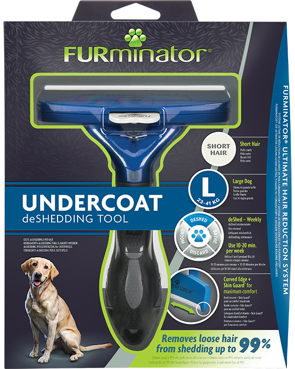 Deshededing Tool For Short Haired Large Dogs Furminator