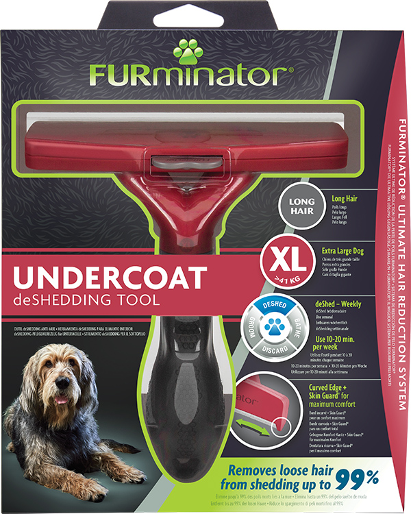 DeShedding Tool for Long Haired Extra Large Dogs