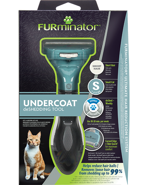DeShedding Tool for Short Haired Small Cats