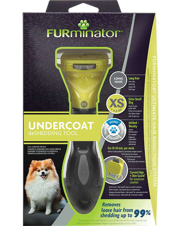 DeShedding Tool for Long Haired Extra Small Dogs