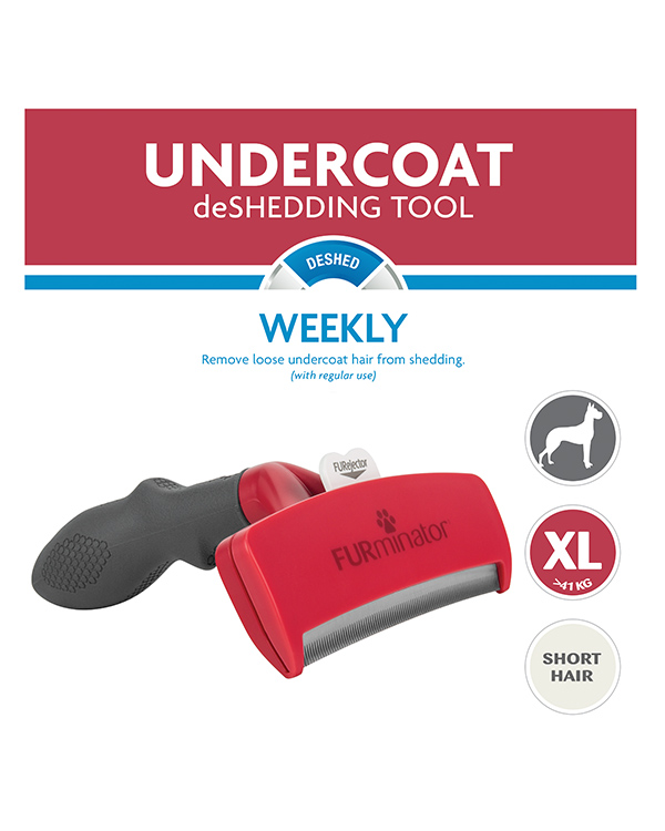 DeShedding Tool for Short Haired Extra Large Dogs