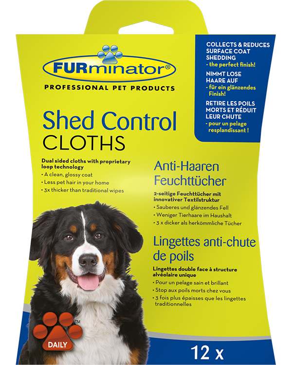 FURminator Shed Control Cloths for dogs