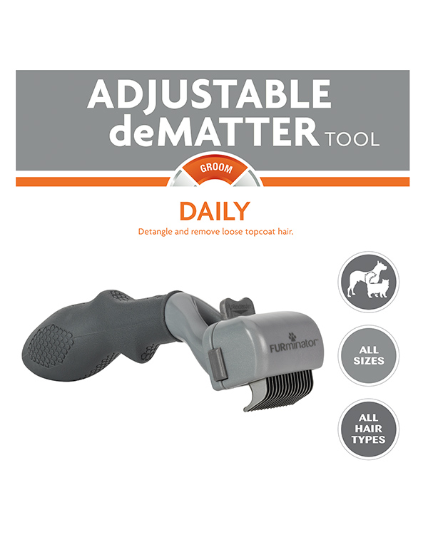 Adjustable Dematter Tool For Dogs